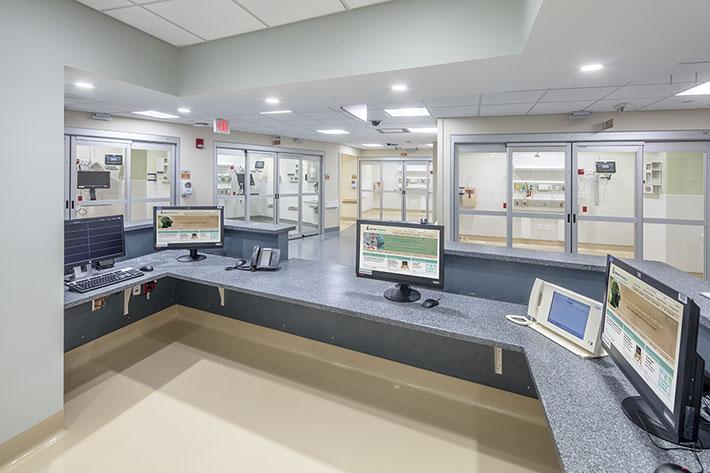 Crouse Health Nurses Station