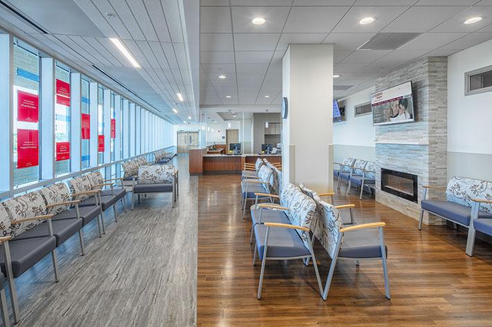 St. Joseph's Health Waiting Room
