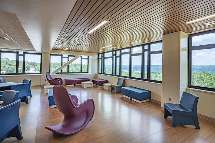 Cayuga Medical Center Waiting Area