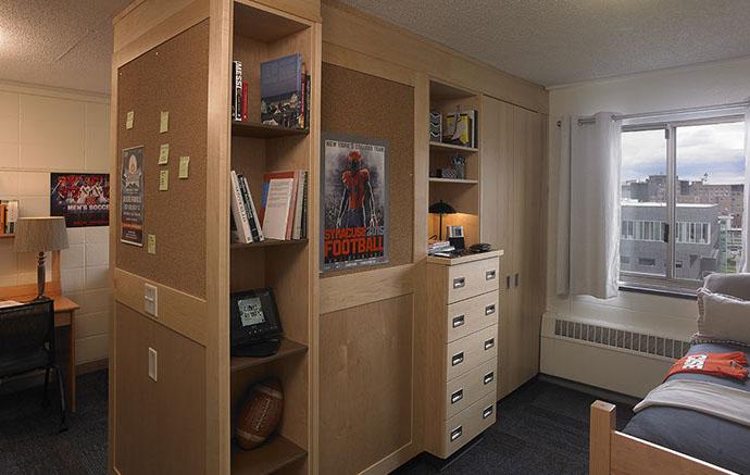 Syracuse University Dorm Room