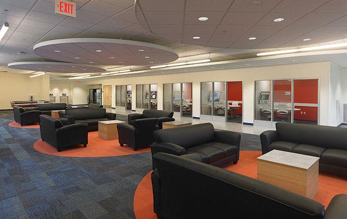 Syracuse University Seating Area