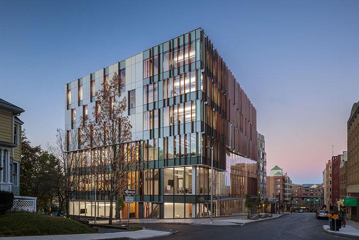 Cornell University Business Education Building