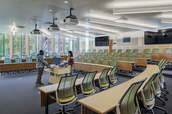 Cornell University Business Education Building Lecture Hall