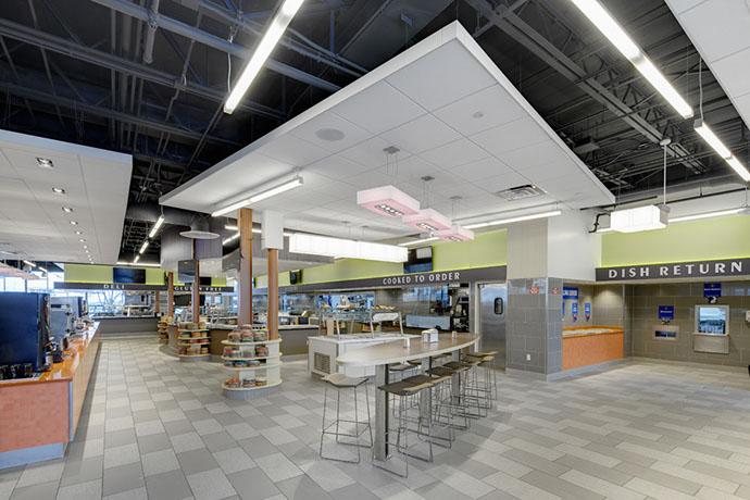 Syracuse University Graham Dining Hall Interior