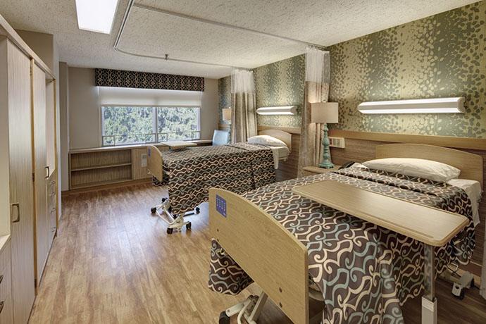 Van Duyn Patient Room