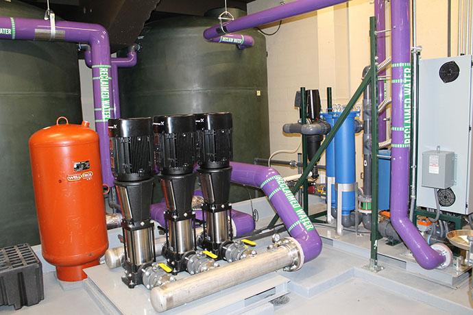 Syracuse University Carrier Dome Rainwater Harvesting System