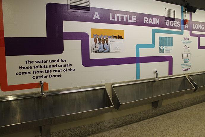 Syracuse University Carrier Dome Rainwater Harvesting