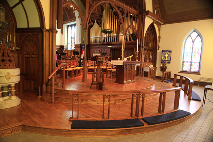 St. James Episcopal Church Phase 1 Alter Close View