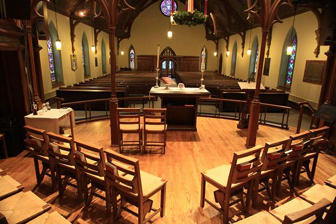 St. James Episcopal Church Phase 1 View from Altar