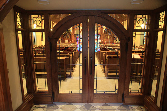 St. James Episcopal Church Phase 1 Sanctuary Doors