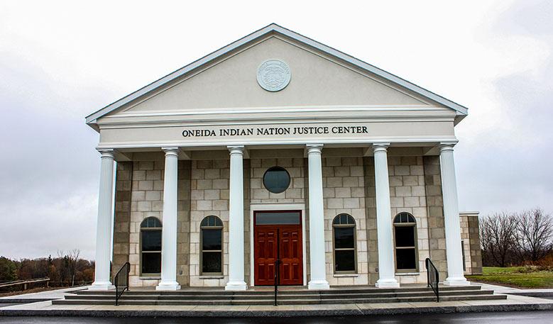 Oneida Indian Nation Justice Center Exterior