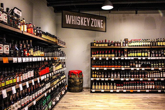 Tin Woodman's Flash Wine and Spirits Whiskey Zone