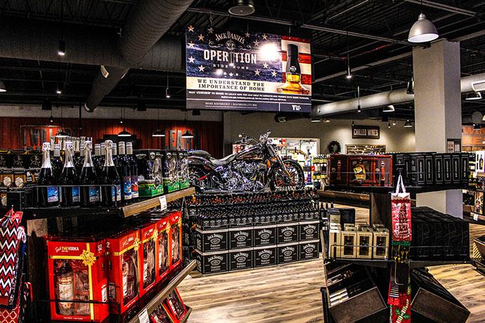Tin Woodman's Flash Wine and Spirits Store