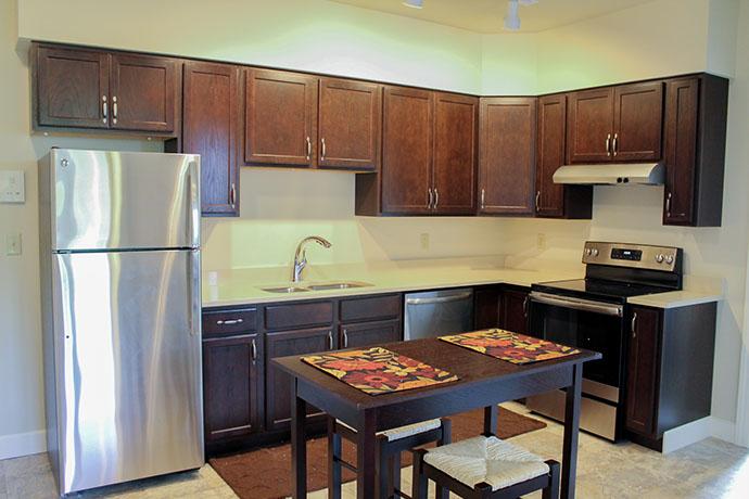 Stewart Ave Mixed-Use Housing/Retail Kitchen