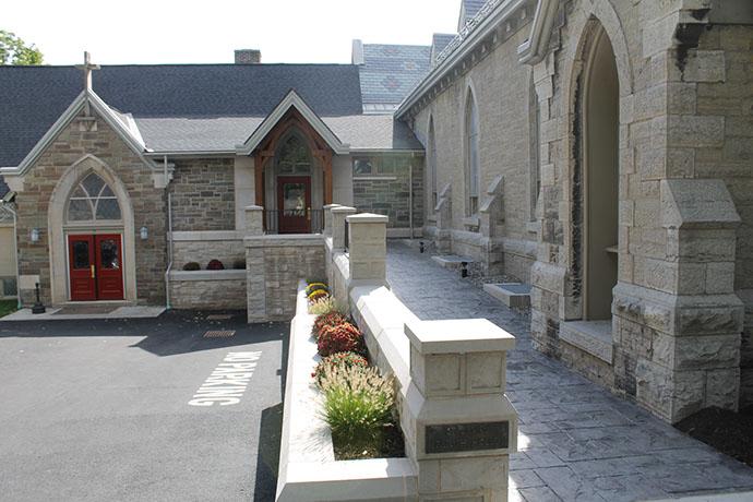 St. James Episcopal Church Phase 2 Exterior Sidewalk