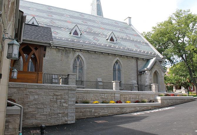 St. James Episcopal Church Phase 2 Exterior Parking View