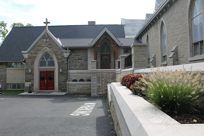 St. James Episcopal Church Phase 2 Exterior Entrance
