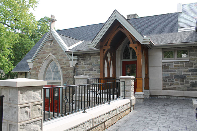St. James Episcopal Church Phase 2 Exterior Door Arches