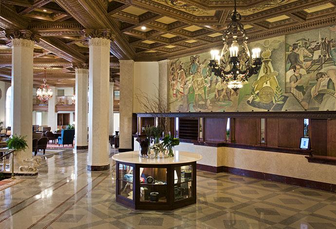 Hotel Syracuse Lobby