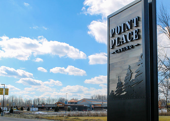 Point Place Casino Sign