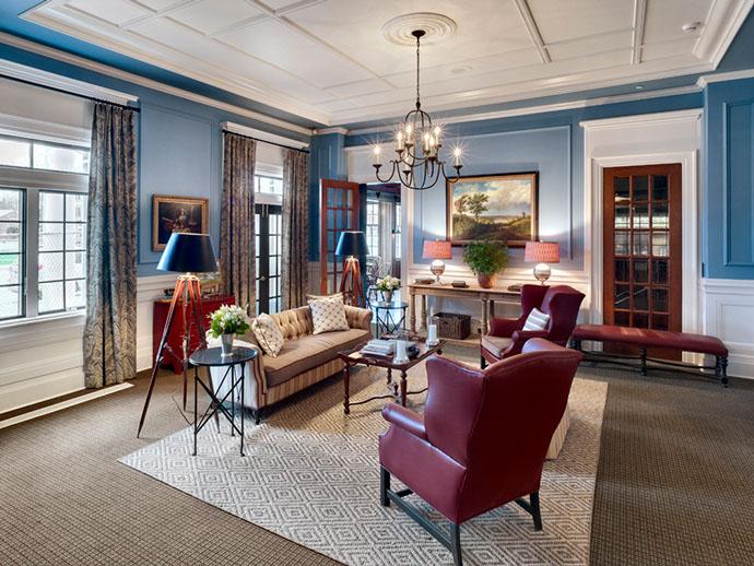 Colgate Inn Guest Room Seating Area