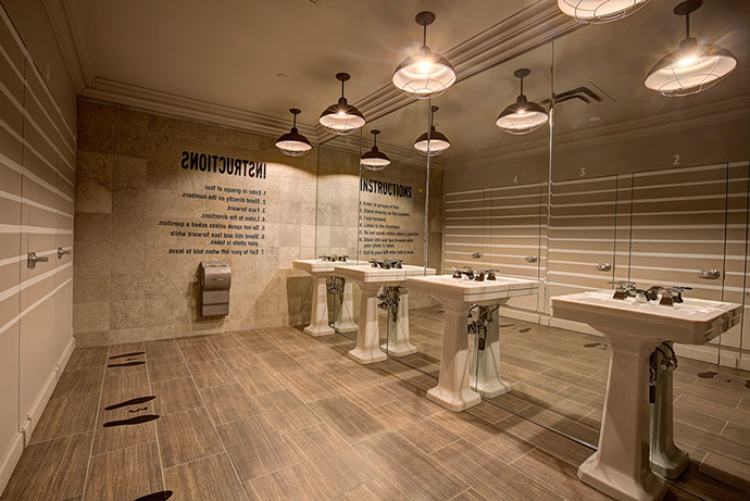 Turning Stone Resort Exit 33 Restroom