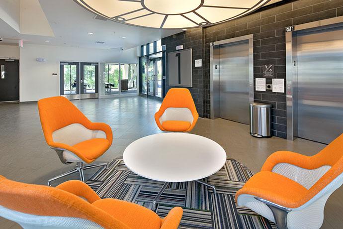 Syracuse University Campus West Housing Foyer