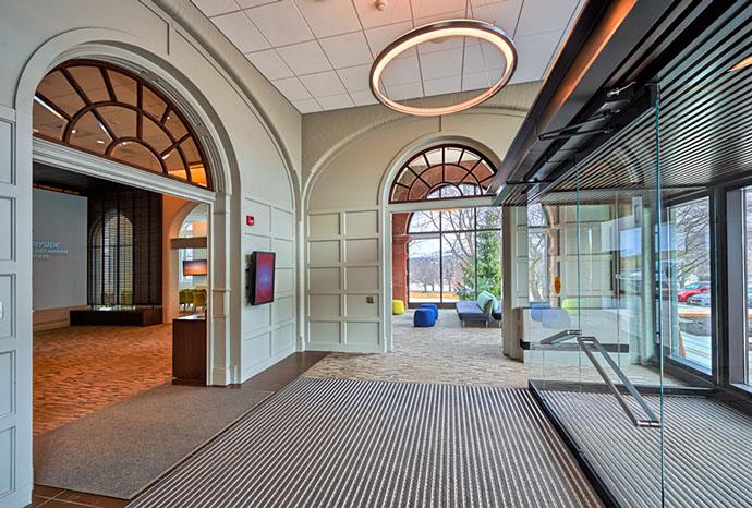 Colgate University Hurwitz Admission Center Foyer