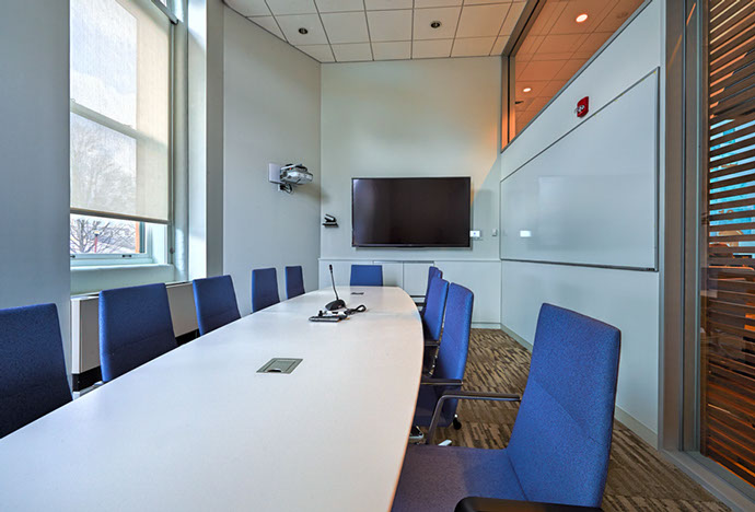 Colgate University Hurwitz Admission Center Conference Room