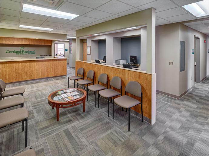 Cortland Regional Medical Center Waiting Room