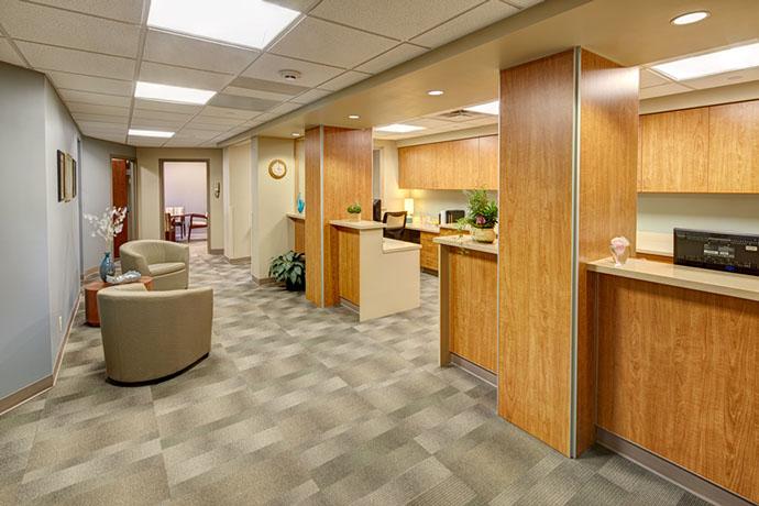 Cortland Regional Medical Center Hallway