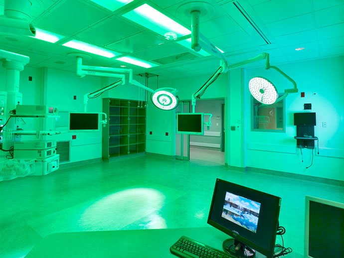 Crouse Health Witting Surgical Center Addition Room