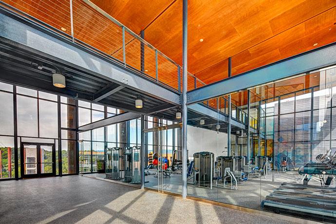 Syracuse University Campus West Housing Gym