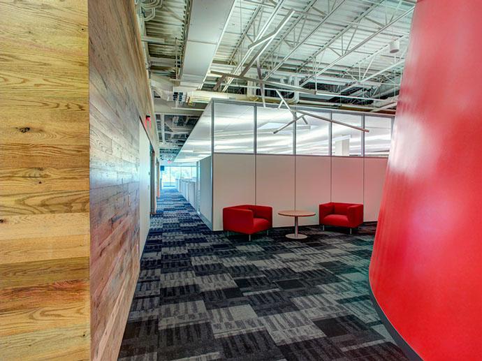 Empower Federal Credit Union Interior Hallway