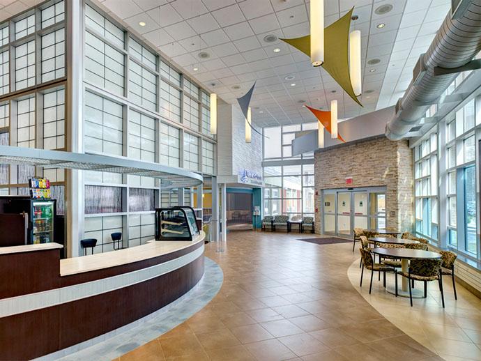 Oswego Health Fulton Medical Center Foyer