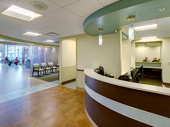 Oswego Health Fulton Medical Center Waiting Area