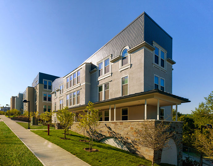 Collegetown Terrace Phase I Exterior Angle