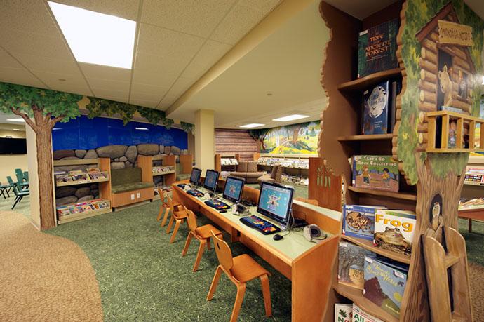 Onondaga Free Library Children's Area