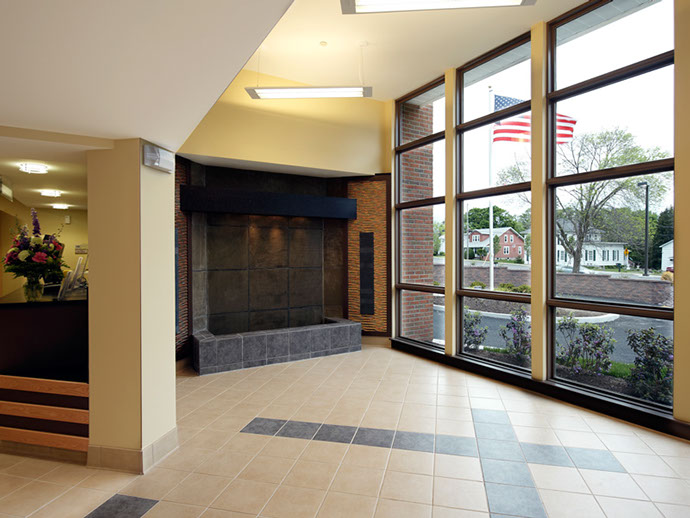 Onondaga Free Library Entrance