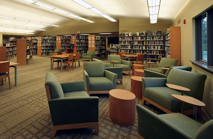 Onondaga Free Library Interior Seating