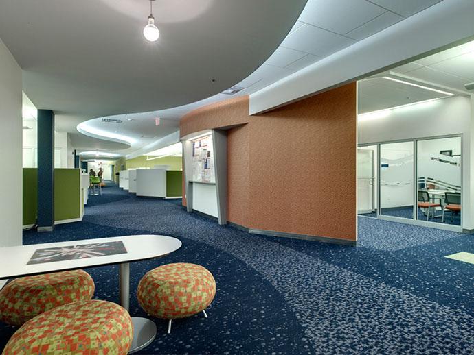 Pall Corporation Hallway