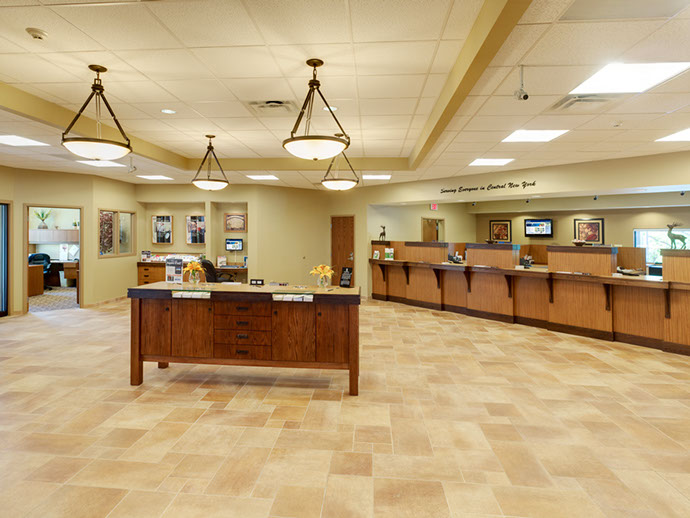 SECNY Federal Credit Union Interior