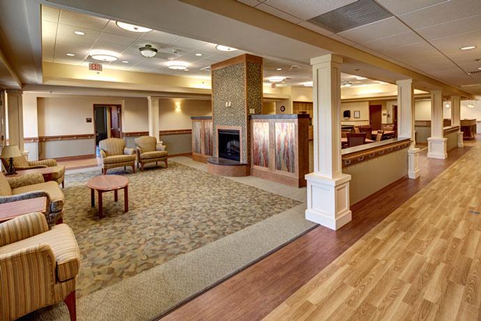 St. Luke Health Services Lounge Area