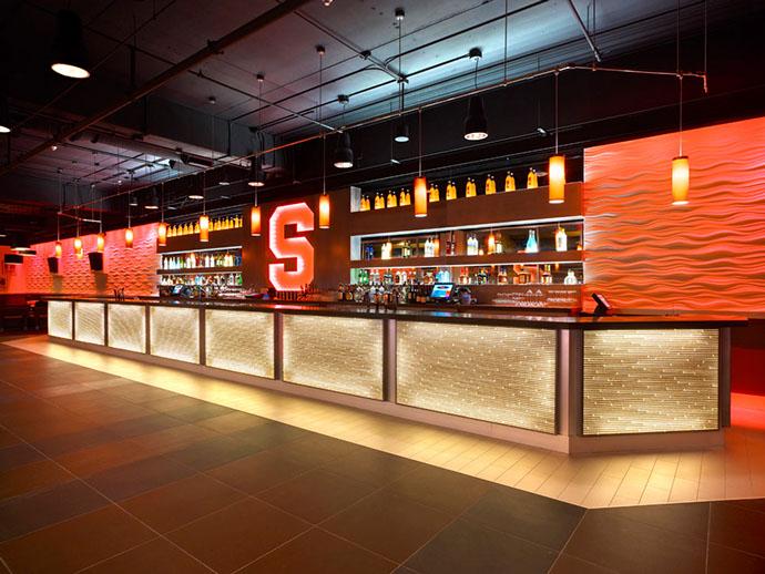 Syracuse University Club 44 Bar Area