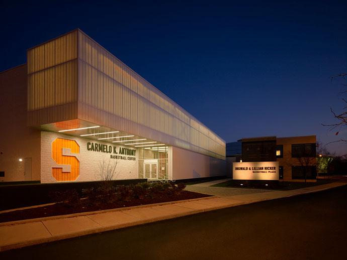 Syracuse University Carmelo K. Anthony Center Exterior
