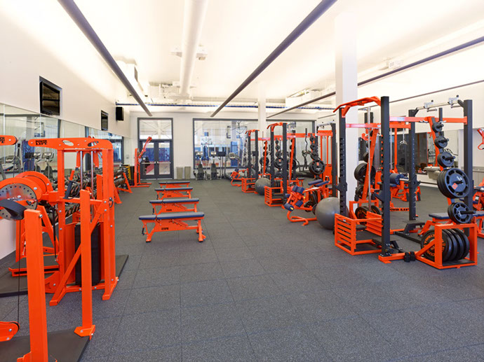 Syracuse University Carmelo K. Anthony Center Gym