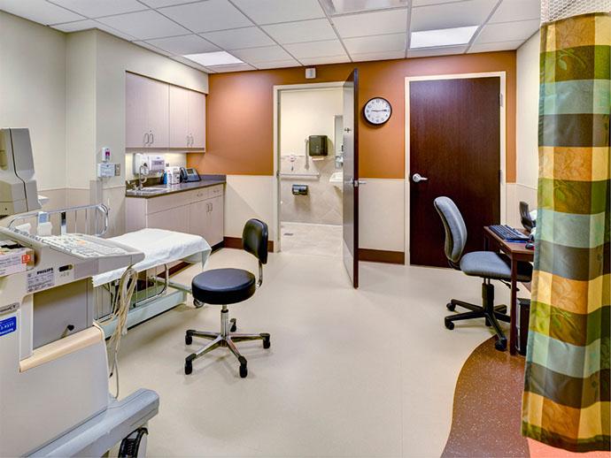 Oswego Health Fulton Medical Center Exam Room