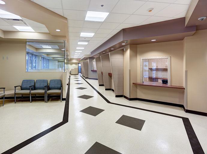 St. Joseph's Health Primary Care West Waiting Area