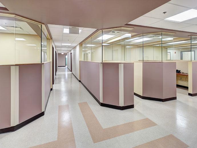 St. Joseph's Health Primary Care West Hallway
