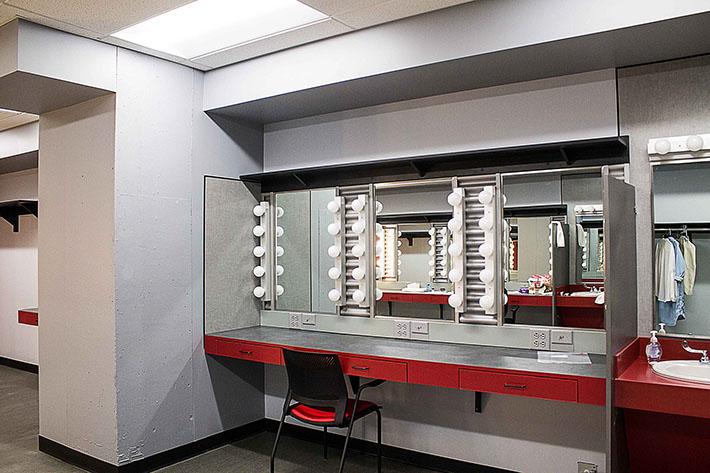 Redhouse Arts Center Dressing Room